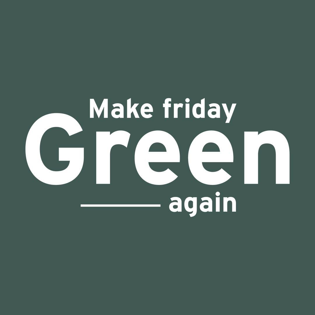 logo make friday green again partenaire puls impact borne d'arcade